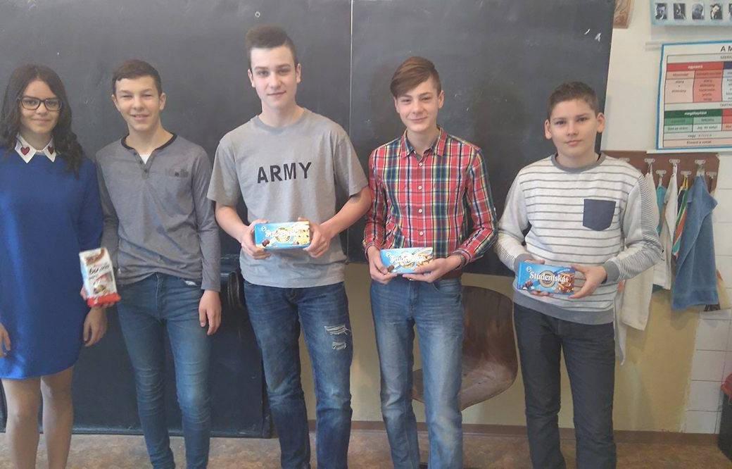 Kónya Lilla, Baka Dávid, Bene Viktor, Valacsay Levente